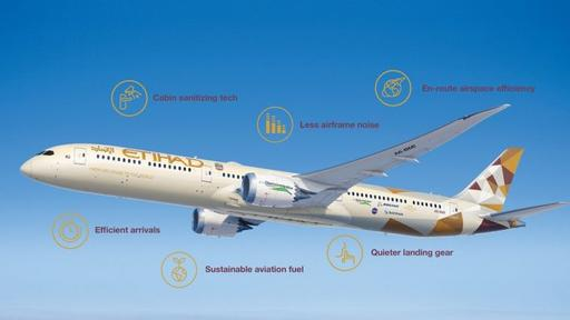Boeing testing quieter and cleaner flights with Etihad Airways