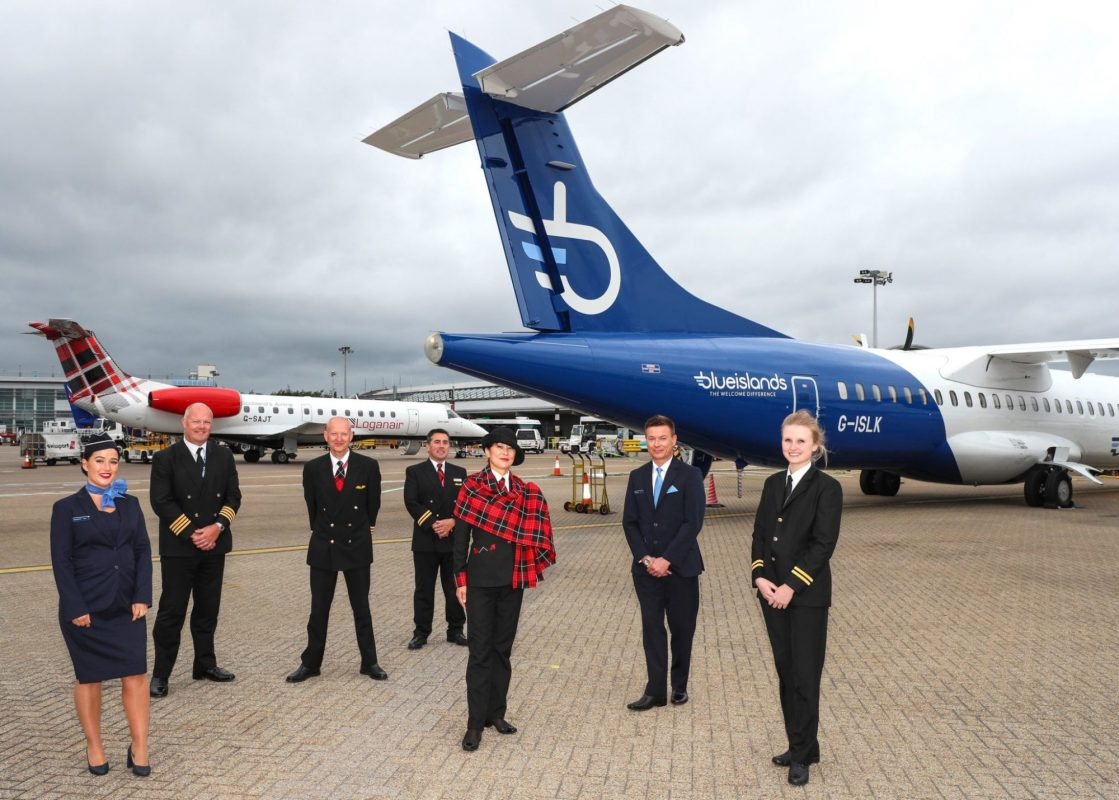 Loganair begins partnership with Blue Islands to connect Channel Islands and UK regions